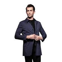 2016 Длинные Траншеи Пальто Мужчины пальто Верхняя Одежда длинное пальто мужчины Повседневная Бизнес Пальто мужские Куртки Ветровка Англия MenTrench Пальто(China (Mainland))