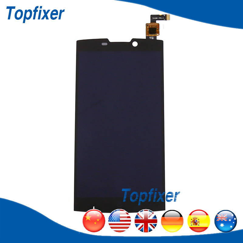 ФОТО For Highscreen Boost 2 SE LCD Display Touch Screen Digitizer Full Complete Repair Parts 1PC/Lot