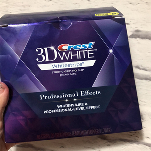 Image 2 - 5 กระเป๋า 10 แถบ 3DสีขาวWhitestrips Luxe Professional Effects Teeth Whitening Stripsฟอกสีฟันเจลต้นฉบับOralสุขอนามัย