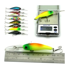 43Pcs/set Fishing Lures Minnow Lure Crank Bait Mixed Size Fly Carp Fishing Accessories Artificial Baits Wobbles Kit Swimbait
