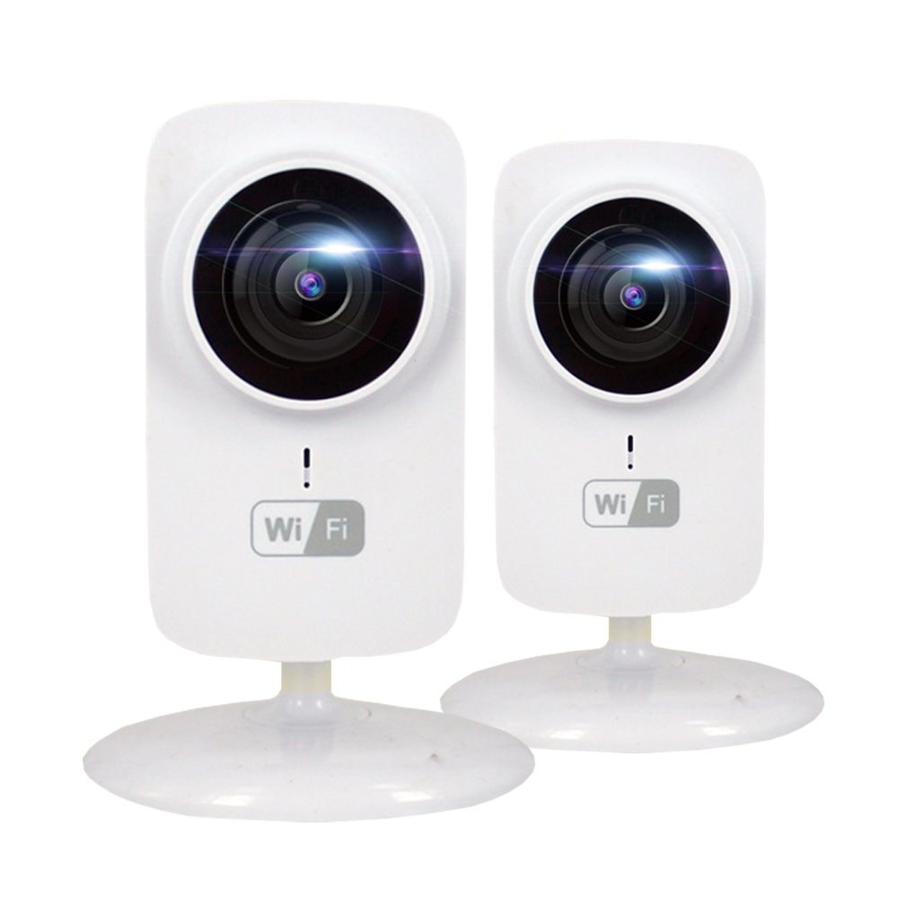 2pcs HD Mini Cube IP Camera WIFI 720P Wireless Webcam CCTV Security Camera MicroSD P2P Onvif Smart Camera IP WIFI IPCam power cube mini pcm 2 1 8m black