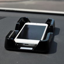 Free Shipping Standard Size, Iphone4/4S Iphone5S Holder,For Car,Office,Room,Travel,Anti-Slip,Tray w/ Non-Slip Mat Beneath