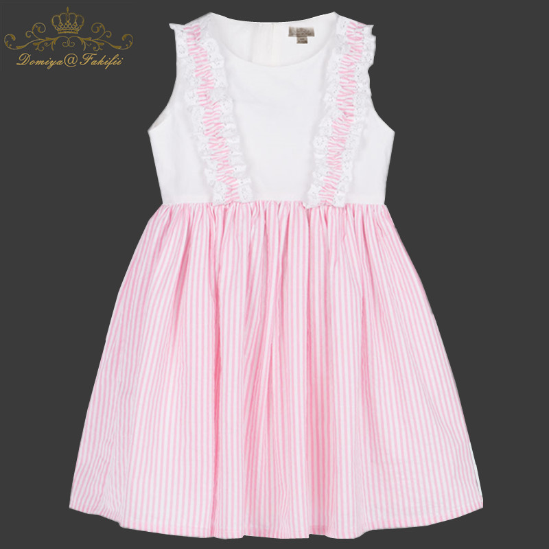 A-Line Girl Dresses Princess Costume 2018 Brand Baby Girl Dress Summer Costume for Kids Clothes Vestidos Children Birthday Dress free shipping 2016 summer kids girl dress princess dresses cartoon the black cat costume children toddler clothes top sale