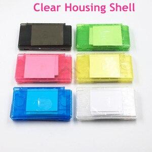 Image 1 - Coque de protection blanche/noire transparente pour Nintendo DS Lite pour Console de jeu NDSL