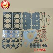 K5 KV6 KRV6 Двигателя полный комплект прокладок комплект для Kia Carnival 2.5L 2497CC V6 1998-0K558-10-270B 50240600