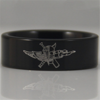 Free Shipping USA UK Canada Russia Brazil Hot Sales 8MM Black Pipe Marine Force Recon Military