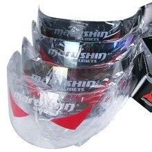 Per Marushin Anti fog lens shield visor fronte pieno Marushin 111 222 778 999 888 RS2 779 del motociclo del casco colorfull clear black