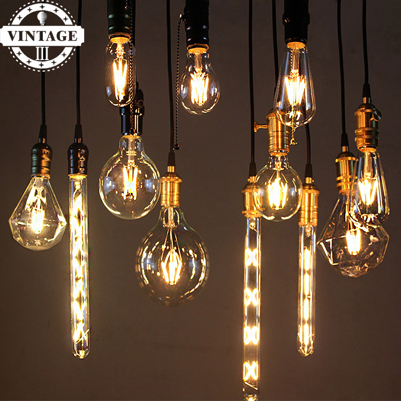 buy lightinbox vintage led bulb lamp 220v retro candle light 2w 4w 6w vintage. Black Bedroom Furniture Sets. Home Design Ideas