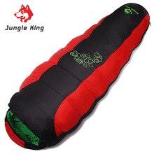 Король джунглей уплотненный наполнитель четыре отверстия хлопок спальные мешки Открытый Кемпинг Альпинизм специальный кемпинг мешок движение