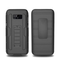 Cool Military Impact Rugged Hybrid Silicone PC Case Heavy Duty Kickstand For Samsung Galaxy S3 S4