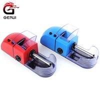 GERUI Popüler 8mm Elektrikli Otomatik Sigara Rolling Makinesi DIY Tütün Silindir Makinesi Makinası Otomatik Enjektör Sıcak Arama
