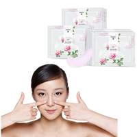 Eye Skin CareRose Petal Vitamin Anti wrinkle Mask Puffy Eye Pouch Remove Eye Cream Drops Skin Lifting Eye Mask Discount Creams