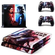 Star Wars The Last Jedi PS4 Skin Sticker Decal Vinyl for Sony Playstation 4 Console and 2 Controllers PS4 Skin Sticker