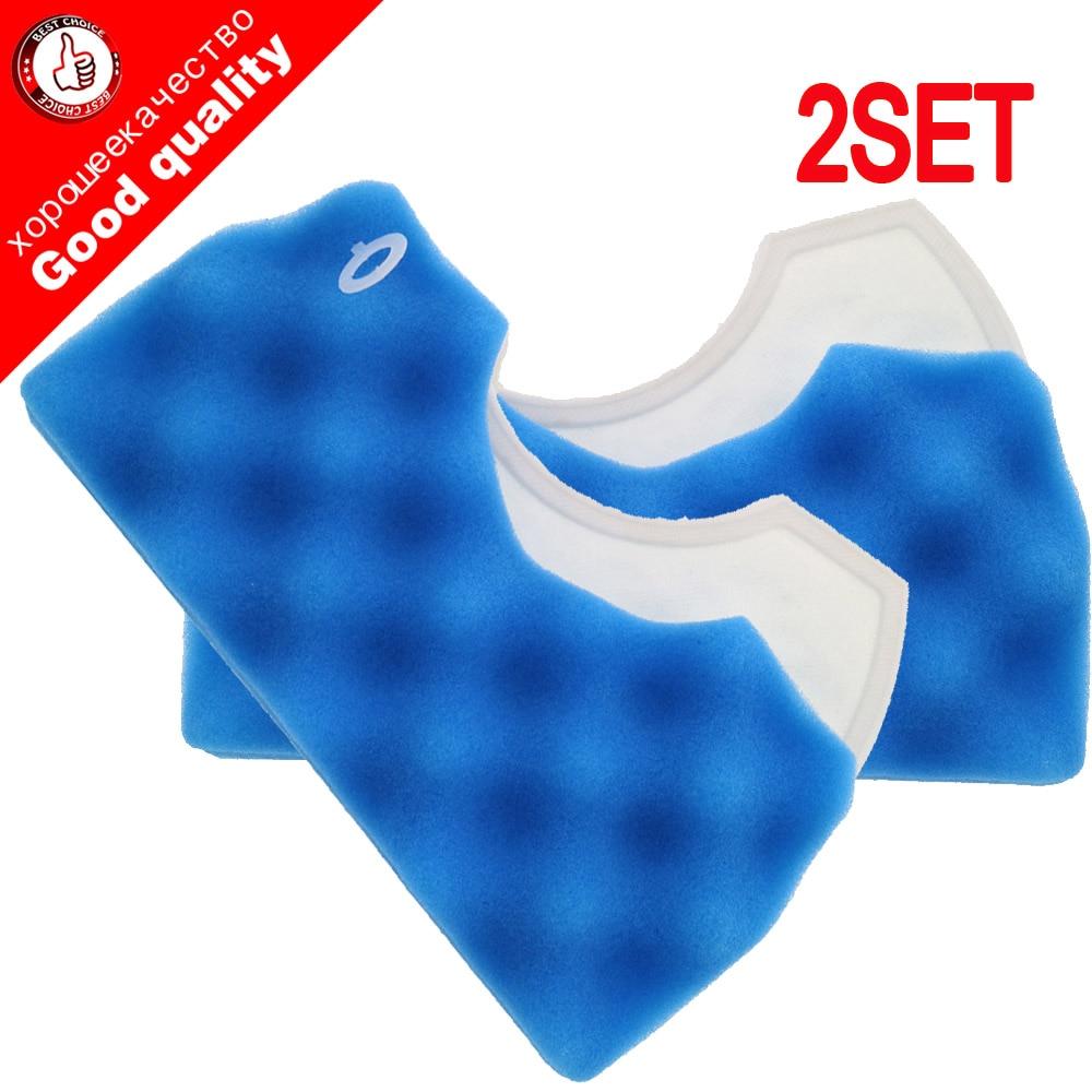 2SET Vacuum Cleaner Accessories Parts Dust Filters Heap For Samsung Cup DJ97-01040C VCA -VM 45P VM 45P SC43 SC44 SC45 Series