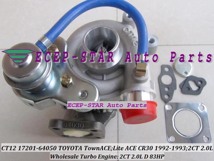 CT12 17201-64050 17201 64050 17201-64040 17201-64020 turbokompressor - Autode varuosad