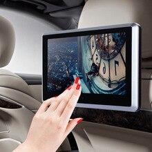 """10.1 """"HD ultrafino 1024*600 Pantalla Táctil de Coches Reproductor de DVD Reposacabezas Monitor Transmisor IR/FM + altavoces + Control Remoto"""