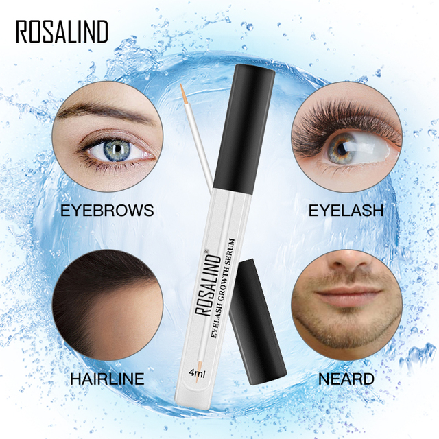 ROSALIND Eyelash Enhancer Lamination Growth Eyelash Serum Professional Longer Eyebrows Enhancer Natural Eye Makeup Lash Lift 3