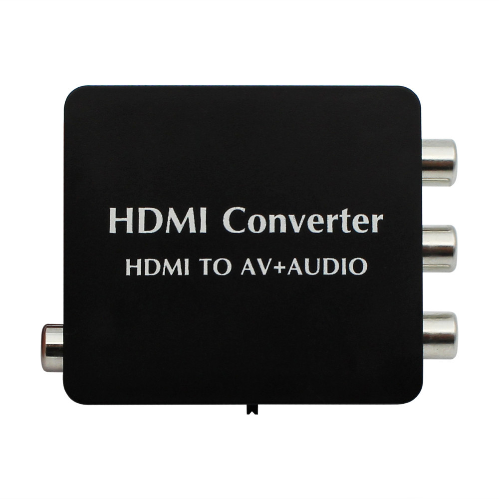HDMI to AV + Audio Converter Support SPDIF and Coaxial Audio Outputs NTSC PAL for TV/PC/PS3/Blue-ray DVD 1080p tivoli audio pal bt glossy blue white