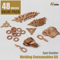 48pc Spotter Deluxe Stud Welder Kit Accessories SS 048