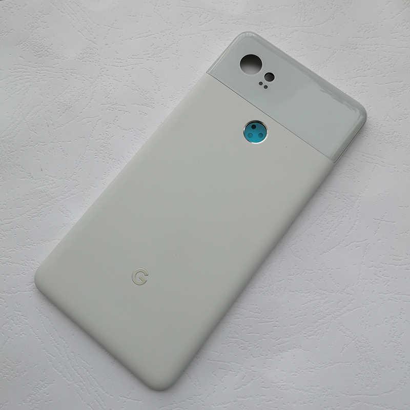 Binyeae 6.0 ''Metal Cover Untuk Google Pixel 2XL Belakang Housing Case Belakang dengan Kaca Jika Anda Memilih