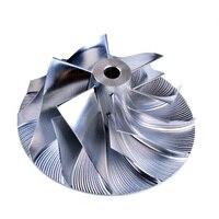 Kinugawa Turbo Billet Verdichterrad 45 9/64 89mm 6 + 6 für TOYOTA 1HD-FTE CT12B HDJ100