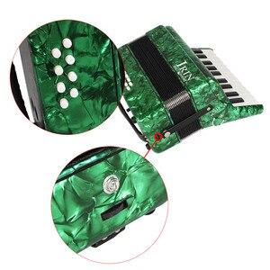 Image 5 - 22 คีย์ 8 Piano Accordion สายรัดถุงมือทำความสะอาดผ้าการศึกษาเครื่องดนตรีสำหรับนักเรียนเริ่มต้น Childern