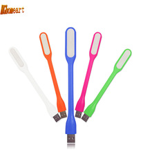 USB LED Lamp 5V 1.2W Portable USB LED Light with USB For Power bank Computer Led Lamp, 6 color