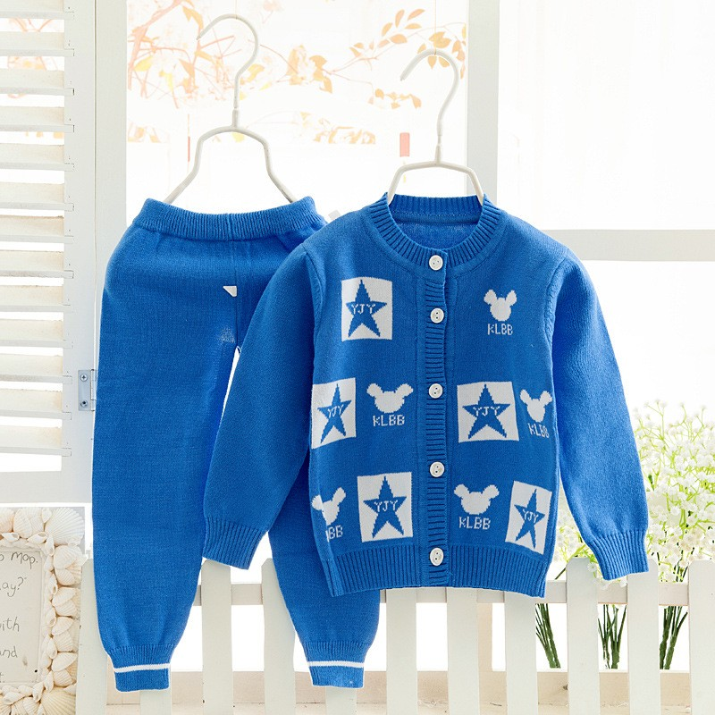 Cardigan Sweater For Girls Kids Sweat shirt+Pants Clothes Set Long Sleeve Baby Sweater Baby Knitted Baby Clothing coat baby toddler baby clothing baby suit outfit long sleeve 6 18month knitted cardigan baby boys girls sweater pants clothes set winter