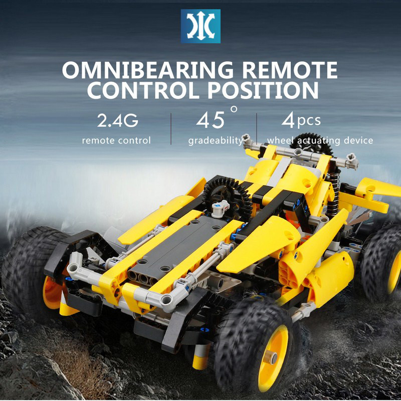 468Pcs RC Cars 2CH 2.4G 5KM/H Remote Control High Speed Electric RC Toys Off Road Truck 1:16 RC Cars for Children Birthday Gifts