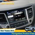 Hot New Tampa Da Etiqueta Filme de Proteção de Navegação NAVI Para Hyundai Tucson Para Navegação 2015 Adesivos Para Hyundai Tucson 2016
