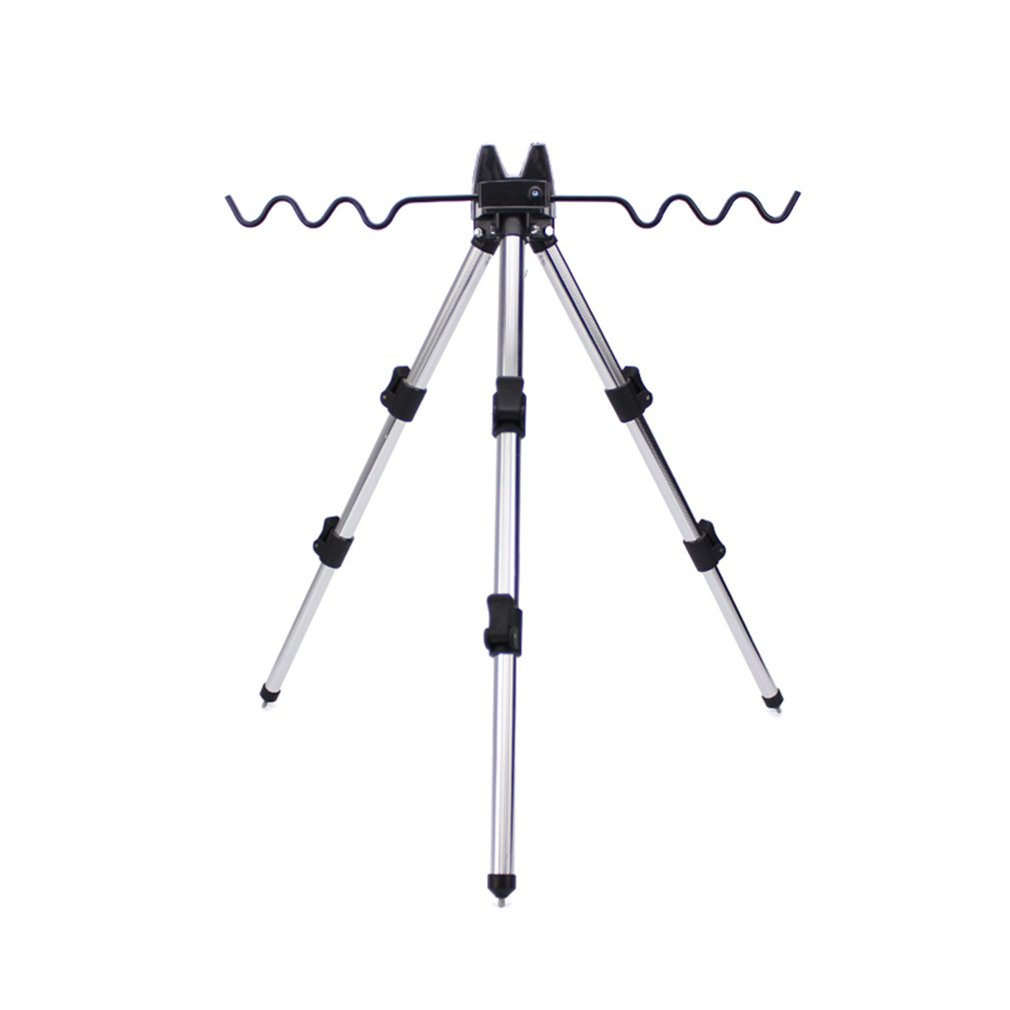 62/120cm Portable Fishing Rod Holder Adjustable Sea Fishing Bracket Universal Telescopic Lightweight Tripod Stand Stretchable