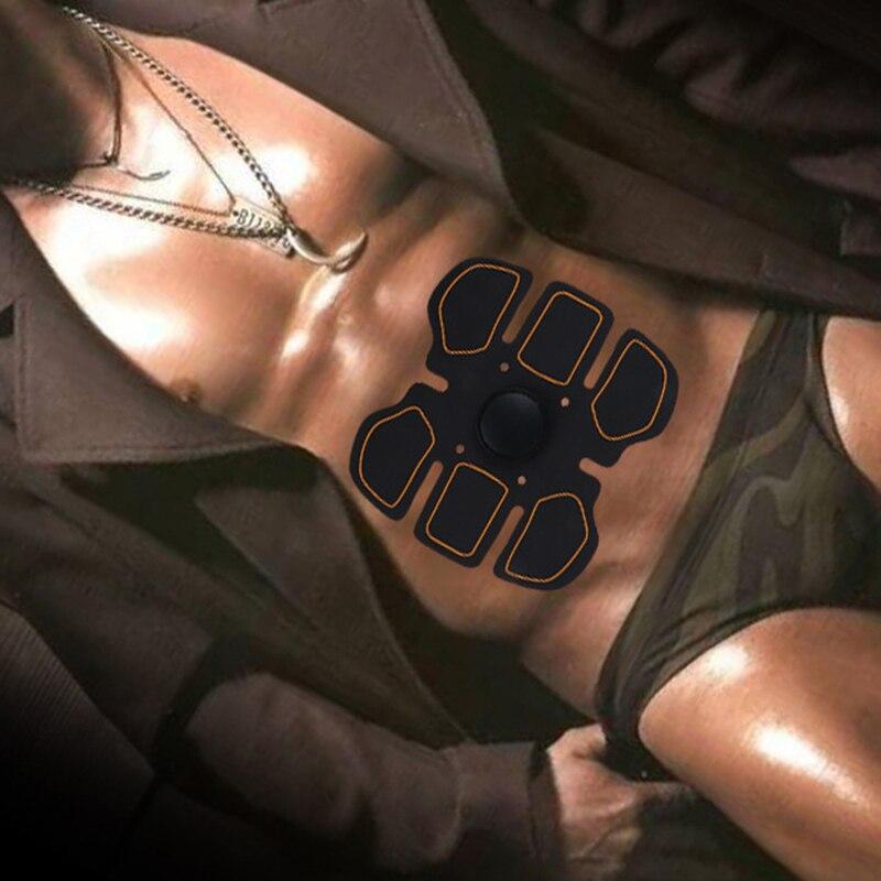 MUMIAN 2018 New Smart Abdominal Muscle Training Sticker Body Sculpting Massager Stimulator Pad Fitness Gym Abs Sports Stickers