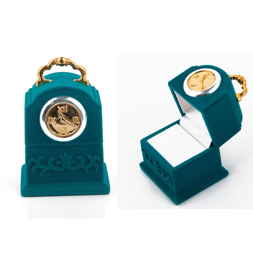 Новинка бархатная подвесная коробка для колец в форме колокольчика коробка для ювелирных изделий демонстрационная Модная креативная коро...