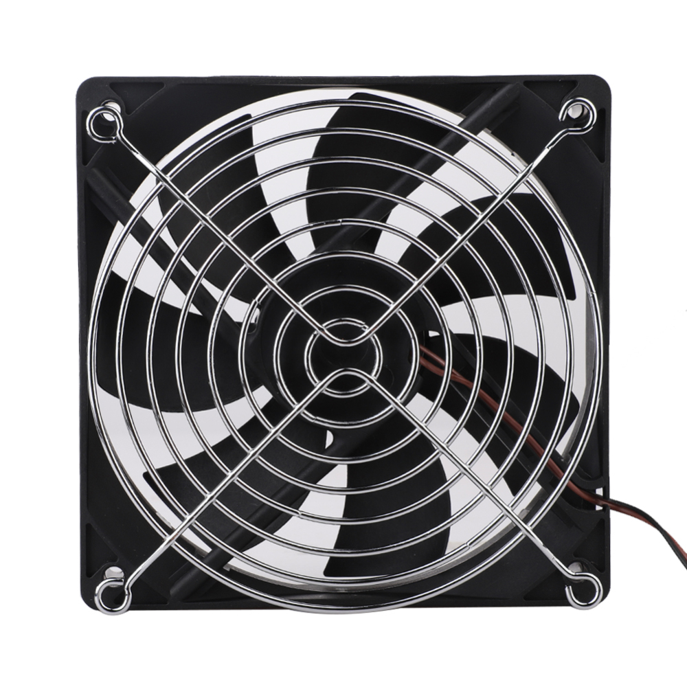 80*80MM Computer PC 120mm <font><b>Fan</b></font> TV Box Wireless Router Cooling USB <font><b>5V</b></font> Cable Interface Pet Box Heatsink <font><b>Cooler</b></font> 1pcs image