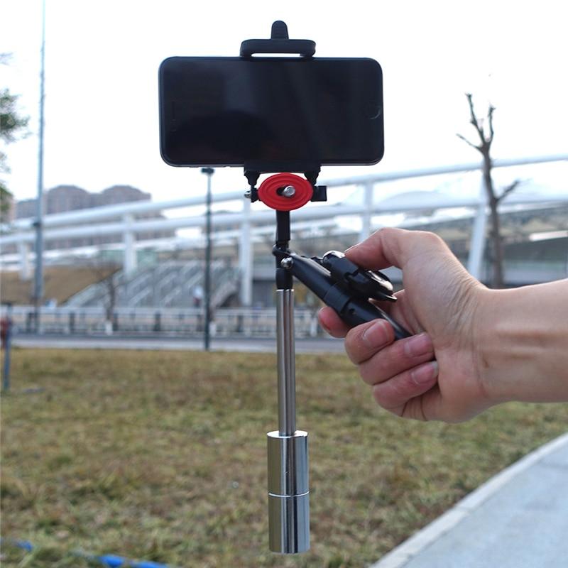 OOTDTY Stabilisateur À main téléphone-appareil photo Steadicam Pour GoPro Hero 3 4 5 iPhone7 Samsung