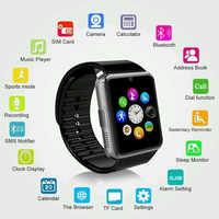 Orologio intelligente per iWatch iPhone Android SmartWatch di Sostegno Sim Carta di TF Touch Screen Passometer Inseguitore di Fitness Messaggio Ricordare GT08