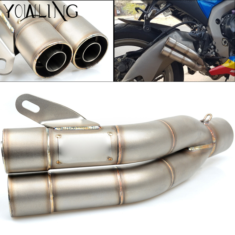 Motorcycle Scooter Exhaust Pipe Muffler For Yamaha FZ1 XVS1300 XT660 FZ6 TDM850 TDM900 VMX1700 XVS650 XV1900 BT1100 MT03 MT01 кофры komine