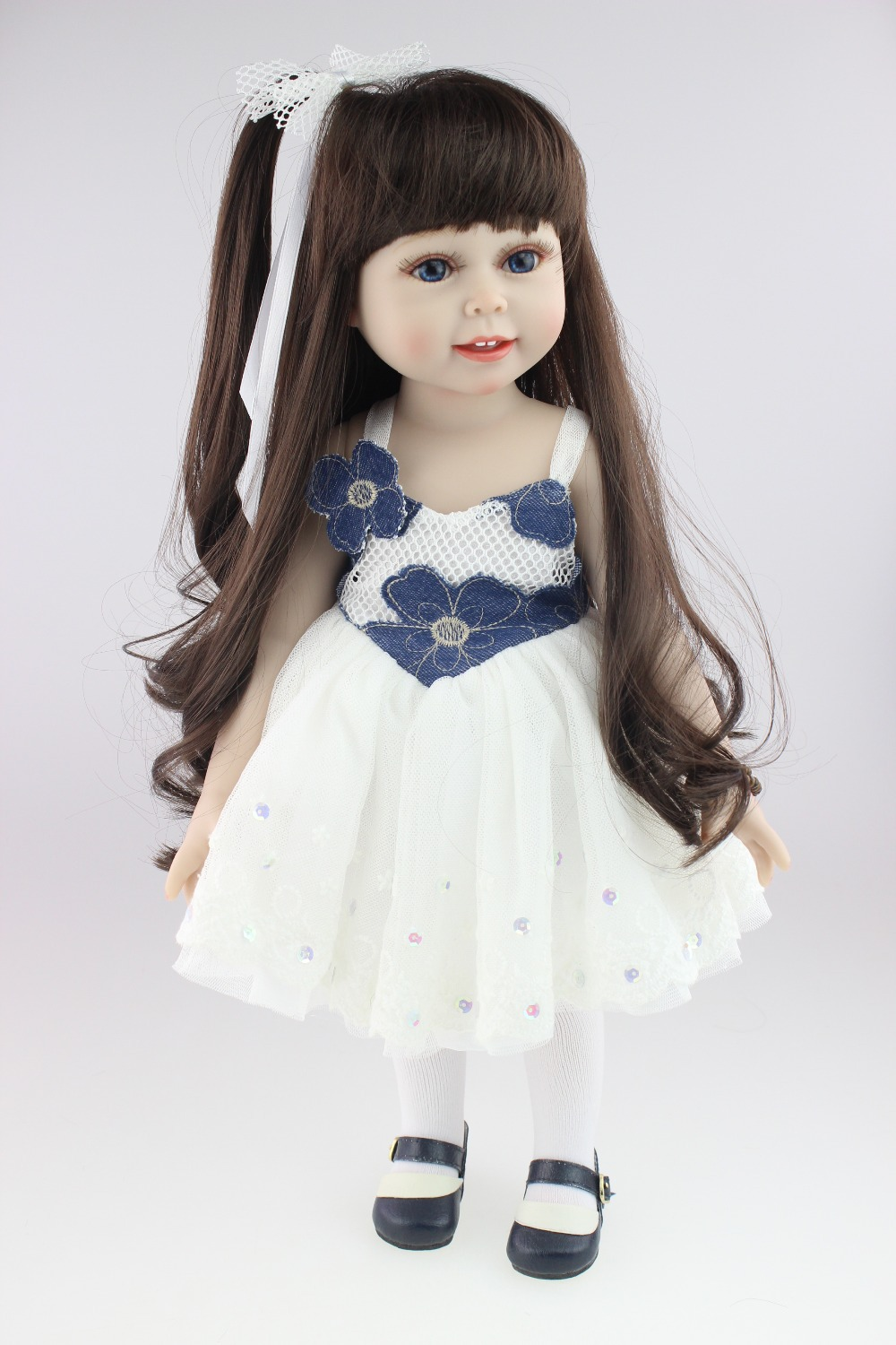 soft gentle touch 18inches American girl doll Journey Girl Dollie& me fashion doll birthday gift toys for girl children lifelike american 18 inches girl doll prices toy for children vinyl princess doll toys girl newest design
