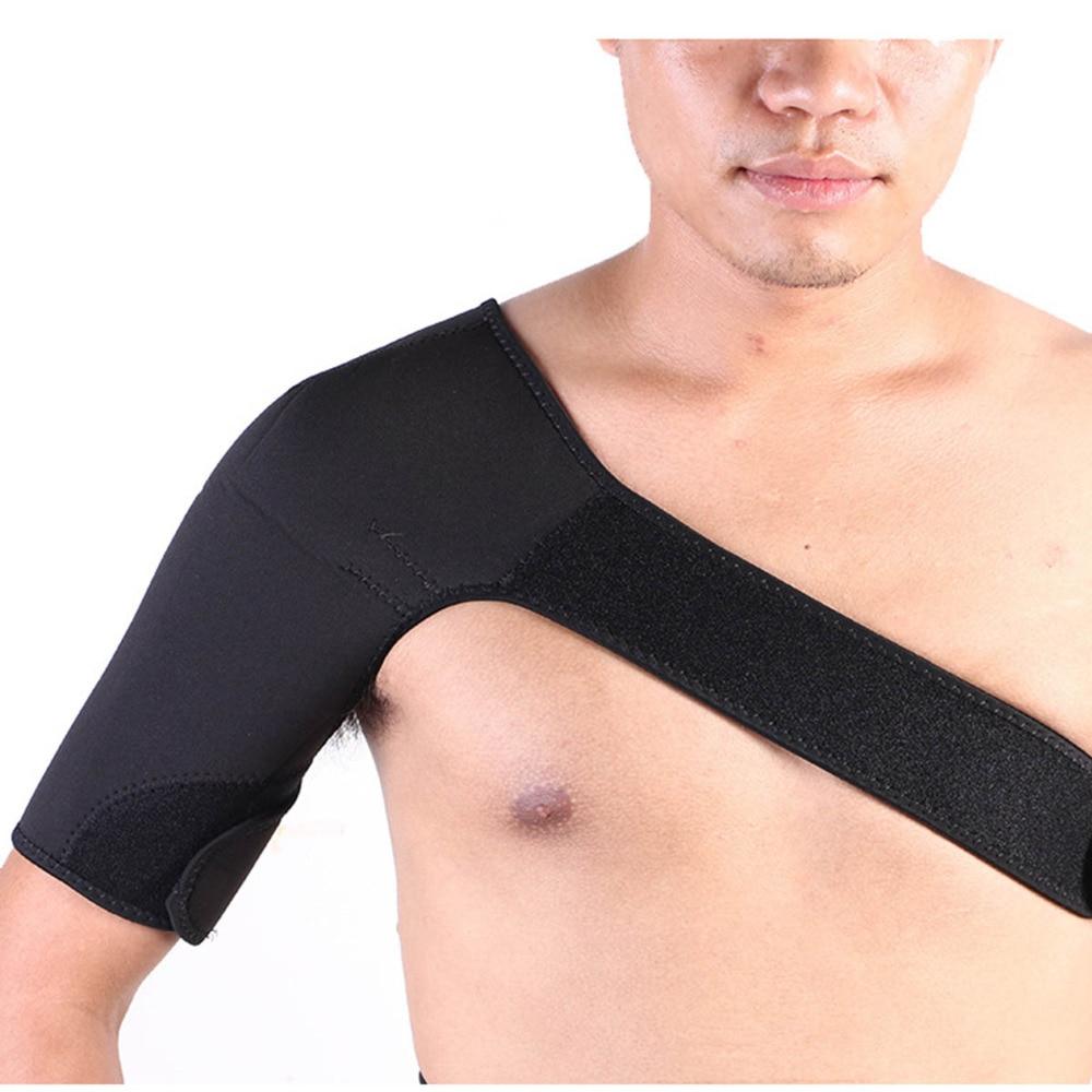 Sports Safety Back and Shoulders Support Belt Bandage Strap Posture Correction for Men Girl Neoprene Brace Dislocation Protector