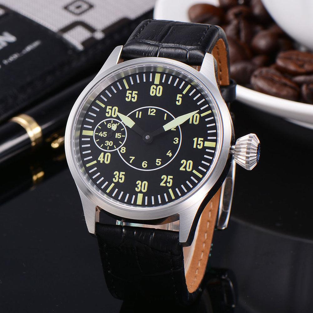 Здесь продается  43mm Corgeut Sapphire glass black dial  6497 mechanical Men