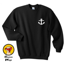 Nautical Anchor Pocket Sweatshirt Funny Sweatshirt Instagram Tumblr Sweatshirt Womens Graphic Sweatshirt Gifts - A933 letter graphic sweatshirt