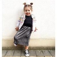 2017 Winter Girls Skirts Casual Corduroy Skirt For Girl Tutu Pettiskirt Tulle Clothes Toddler Kids Tulle