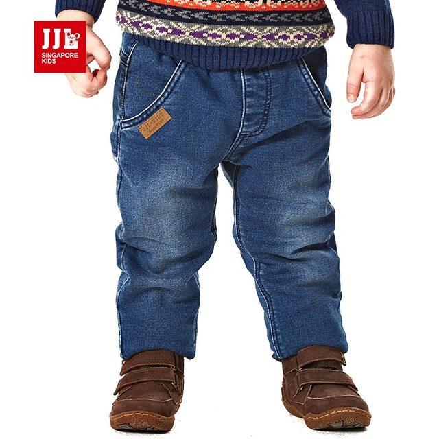 2015 новый мальчиков одежда мода дети мальчики брюки высокой качество толстые дети зимой теплый сон мальчиков джинсы детские брюки 0-4y