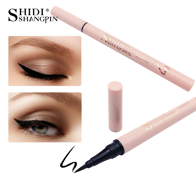 LANJINGLIN 1 Pcs Black Long Lasting Eye Liner Pencil Waterproof Eyeliner Smudge-Proof Cosmetic Beauty Makeup Tools Liquid