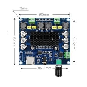 Image 4 - XH A104 Bluetooth 4,1 TDA7498 цифровой усилитель мощности плата 2x50 Вт стереоусилитель модуль поддержка tf карты AUX