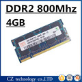 Hynix memória ram DDR2 4 gb 8 gb 800 Mhz PC2-6400 sodimm laptop, Memoria ram DDR2 4 gb 800 Mhz pc2 6400 notebook