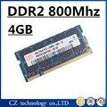 Hynix memory ram DDR2 4gb 8gb 800 Mhz PC2-6400 sodimm laptop, memoria ram ddr2 4gb 800Mhz pc2 6400 notebook, 4gb ddr2 memory