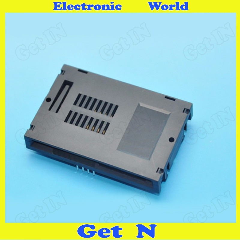100pcs 8p IC Card Holder 8Pins Normally open switch Open IC Connector