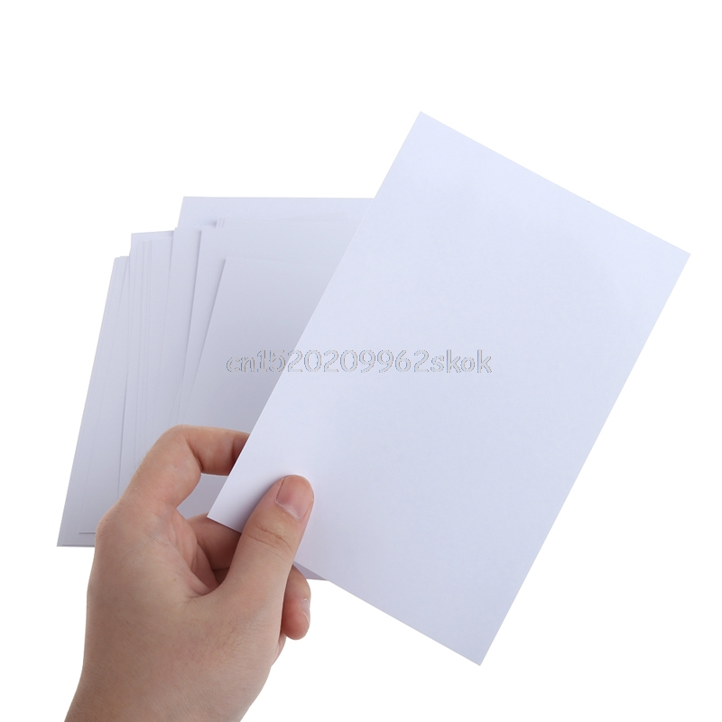 20 Sheet High Glossy 4R 4x6 Photo Paper Apply to Inkjet Printer Ideal for Photographic Quality Colorful Graphics Output J23