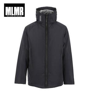 Image 5 - Jackjones Mannen Hooded Parka Jas Lange Gewatteerde Jas Jas Mode Menswear Basic 218309529